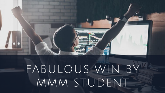Fabulous Win by MMM Student